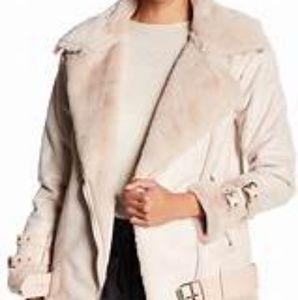 Faux fur Over-sized Jacket
